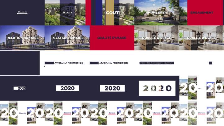 Ataraxia Promotion Immobilière Voeux 2020