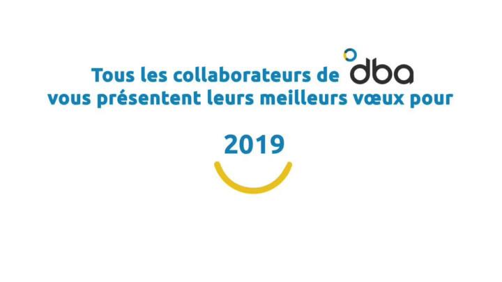 DBA vœux 2019
