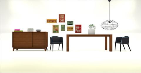 Vue d'ensemble du mobilier