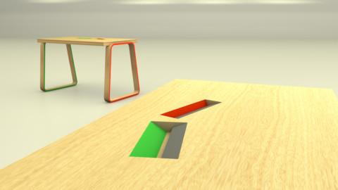 Mobilier 3D détail