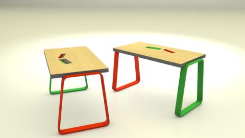 Variation sur texture mobilier
