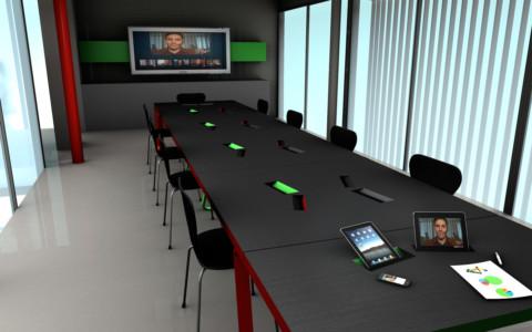 Salle de visio-conférence