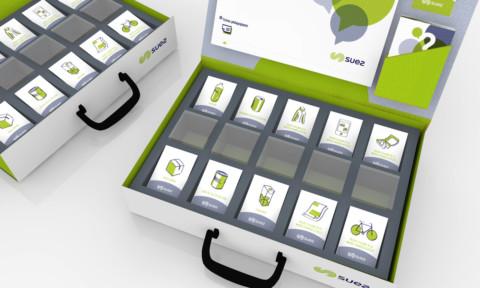 Simulation contenu du packaging